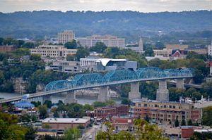 Chattanooga, Tennessee Skyline